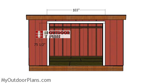 Fitting-the-shed-door-jambs