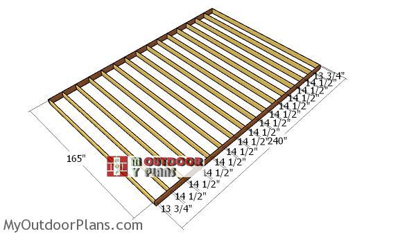 Floor-frame-14x20-shed