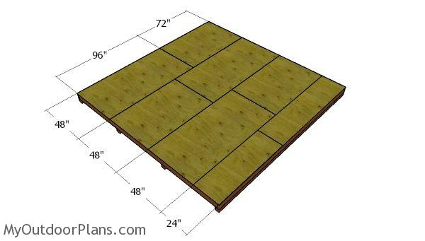 14x14 Lean To Shed Plans Myoutdoorplans Free