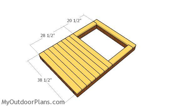Floor slats