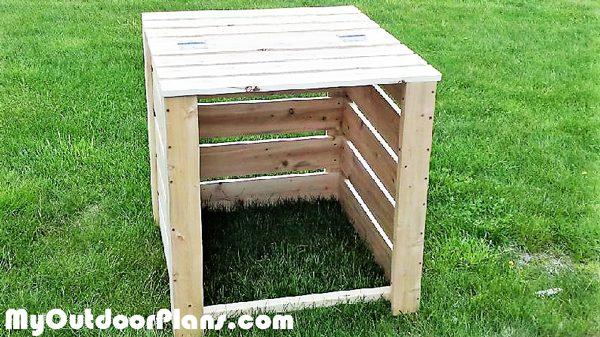 Front-open-compost-bin
