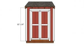 4×6 Double Shed Door Plans