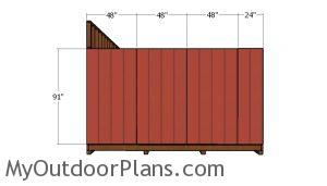 Other side wall siding