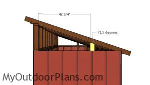 Roof side supports