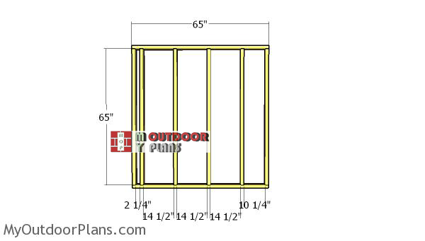 Side-wall-frames---6x6-shed