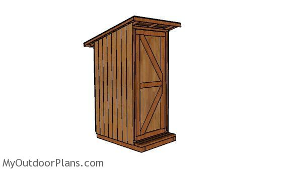 Simple Outhouse Plans Myoutdoorplans Free Woodworking