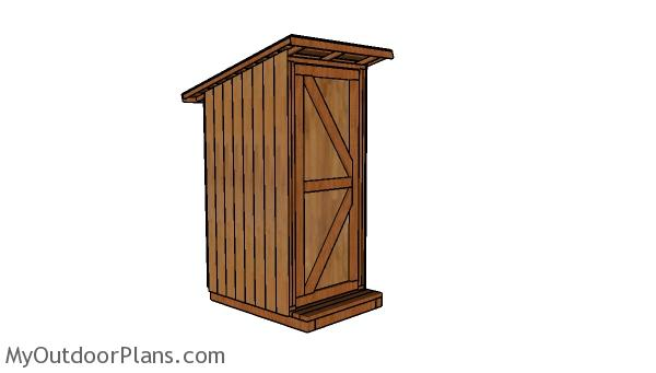 Simple Outhouse Plans