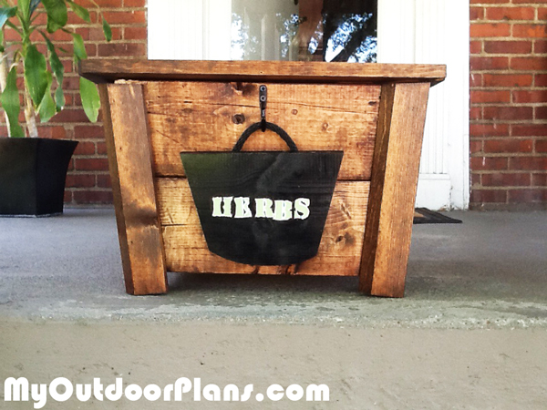 DIY Herb Garden Box