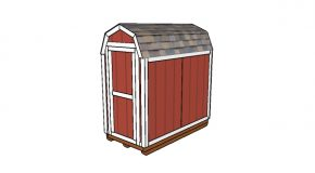 4×8 Barn Shed Plans