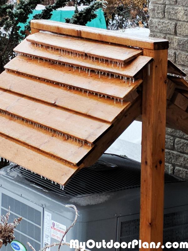 DIY Heat Pump Roof | MyOutdoorPlans | Free Woodworking ...