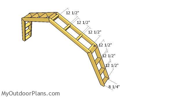 Assembling the overhangs