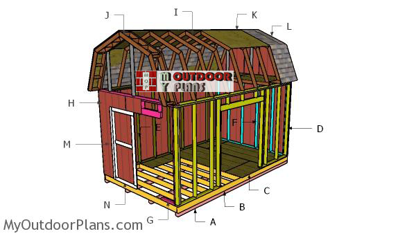 Building-a-10x16-barn-shed