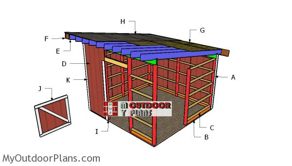 Building-a-12x12-one-horse-barn-shed