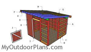 Building a 12x12 one horse shed