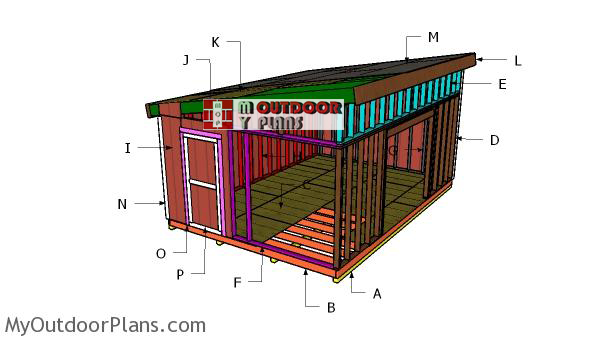 Building-a-14x20-lean-to