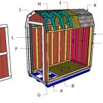4×8 Barn Shed – PART 2