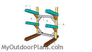 Building a kayak rack
