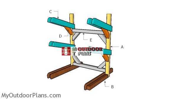Building-a-kayak-rack