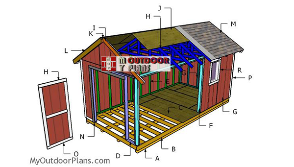 Building-an-outdoor-storage-shed