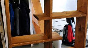 DIY Contemporary Bookshelf