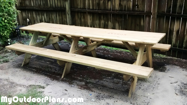 DIY 10' Picnic Table
