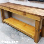 DIY 4×4 Leg Workbench