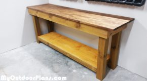 DIY 4×4 Leg Workbench
