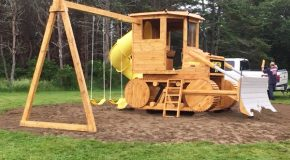 DIY Bulldozer Playset
