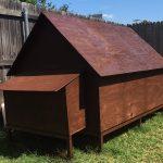 DIY Simple Backyard Chicken Coop