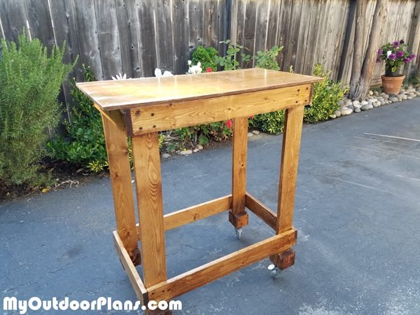 Diy Basic Miter Saw Table Myoutdoorplans Free Woodworking Plans And Projects Diy Shed