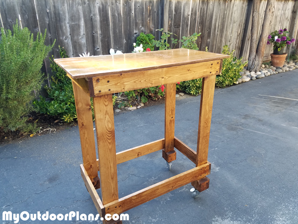 DIY Basic Miter Saw Table