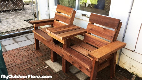 DIY-Simple-Double-Chair-Bench