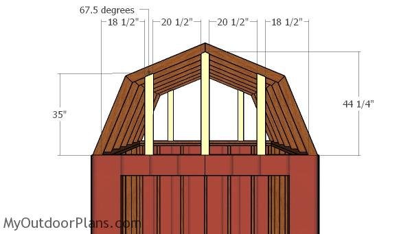 Roof supports