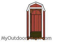 Fitting the door jambs