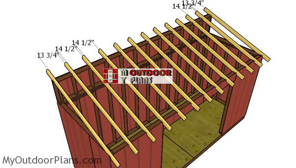 Fitting-the-rafters---6x16-shed