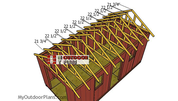 Fitting-the-trusses