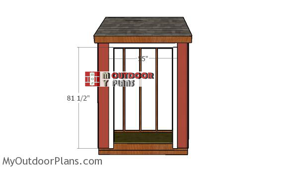 Front-wall-shed-jambs