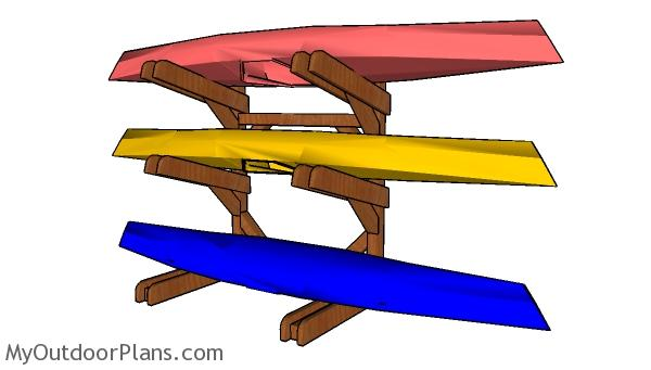 Kayak Rack Plans