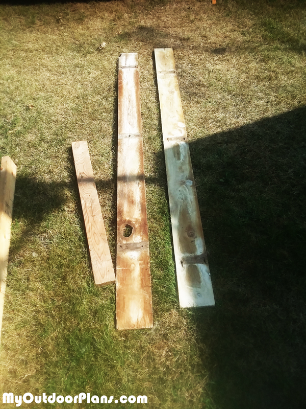 Recycled-lumber