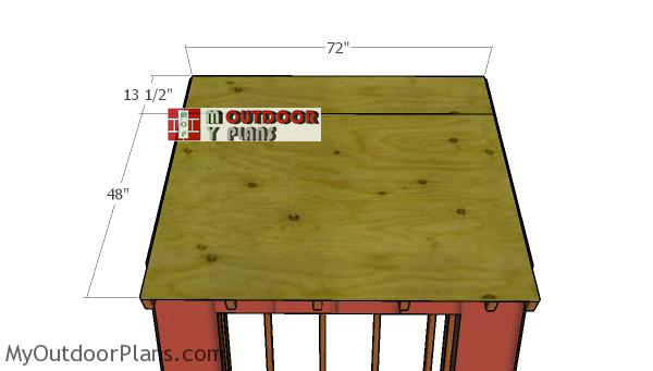 Roof-sheets---attached-4x6-shed