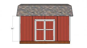 10×16 Barn Shed Doors Plans