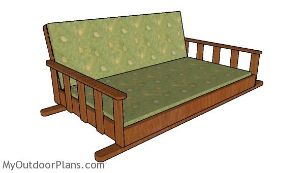 Swing Bed Plan Myoutdoorplans Free Woodworking Plans And