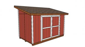 8×14 Lean to Shed Plans