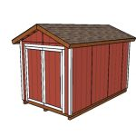 8×14 Shed Plans