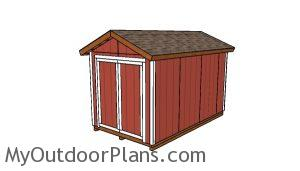 8x14 Shed Plans
