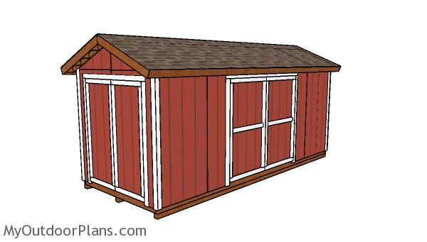 8x20 Shed Plans