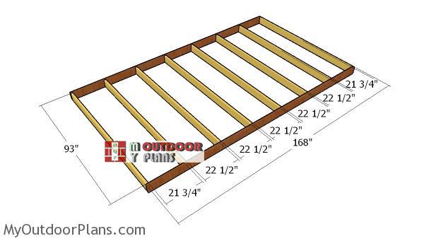 Building-8x14-floor-shed-frame