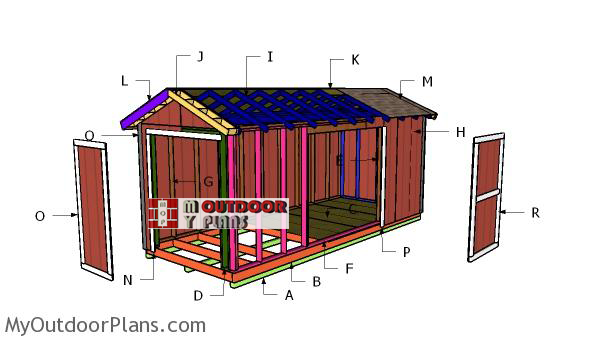 Building-a-8x20-shed
