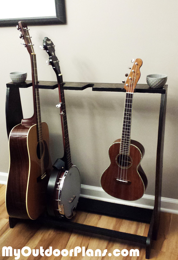 Building a DIY Multi Guitar Stand