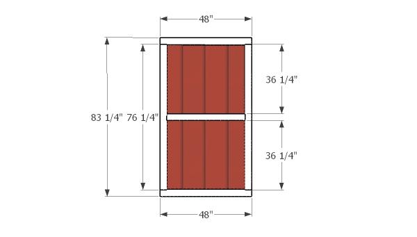 Building the side doors